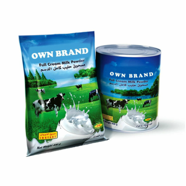 Private label milk powder